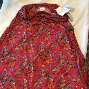 NWT Lula Roe Floral Maxi Skirt